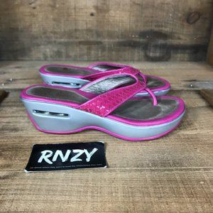 Cole Haan x Nike Air Pink Open Toe Comfort Sandal